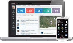 TrackTik Guard Management Software Live Dashboard & Mobile Application