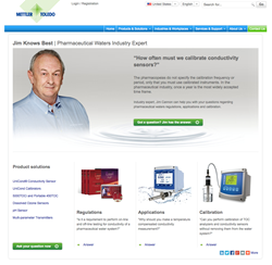 METTLER TOLEDO Thornton has launched a website where Jim Cannon, the company's Pharmaceutical Market Manager, answers questions on all aspects of pharmaceutical waters.
