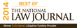 National Law Journal Names USClaims Best Litigation Funding Provider