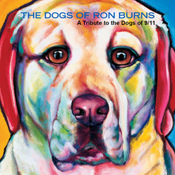 Ron Burns offers a new book of moving visual tributes to the dogs who helped before, during and after the 9/11 attacks. Available at the 9/11 Memorial Museum gift shop at at www.RonBurns.com/book/