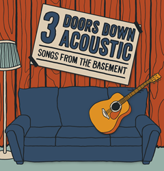 3 Doors Down Acoustic: Songs From the Basement Tour Dates and Tickets