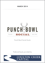 Punch Bowl Social - Coulton Creek Capital