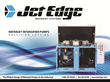 Water Jet Manufacturer Jet Edge Introduces New Precision Water Jet Pumps Brochure