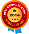 "HostUcan Awards GreenGeeks as ""Best Drupal Hosting 2014"""