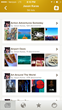 """Users can create their own lists using suggestions offered by Trover like """"Been There Too,"""" """"Dream Destinations,""""  """"Spots to Try"""" or create an unlimited number of custom Trover Lists"""
