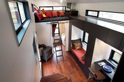 The hOMe tiny house architectural plans will be released for sale on TinyHouseBuild.com starting Friday, April 18