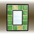recycled glass mirror