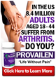 Provailen, the Clinically Proven Arthritis Pain Relief Supplement,...