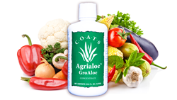 agrialoe, groaloe, coats aloe, aloe vera, natural soil amendment