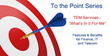 "Telecom Expense Management Firm Valicom Launches ""To the Point"" Series"