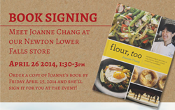 Joanne Chang Book Signing