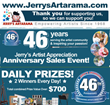 Jerry's Artarama Celebrates its 46th Anniversary with Online Events