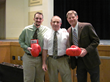 Ray Ciancaglini with ATs Jarett Rhoads and Phil Steckley in Irondequoit, NY