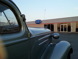 '36 Chevy at Eastwood's Alsip Store