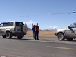 Tourists are on the way from Lhasa to Kathmandu.