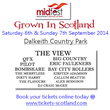 8000 Music Fans set to descend on Dalkeith Country Park as The View...