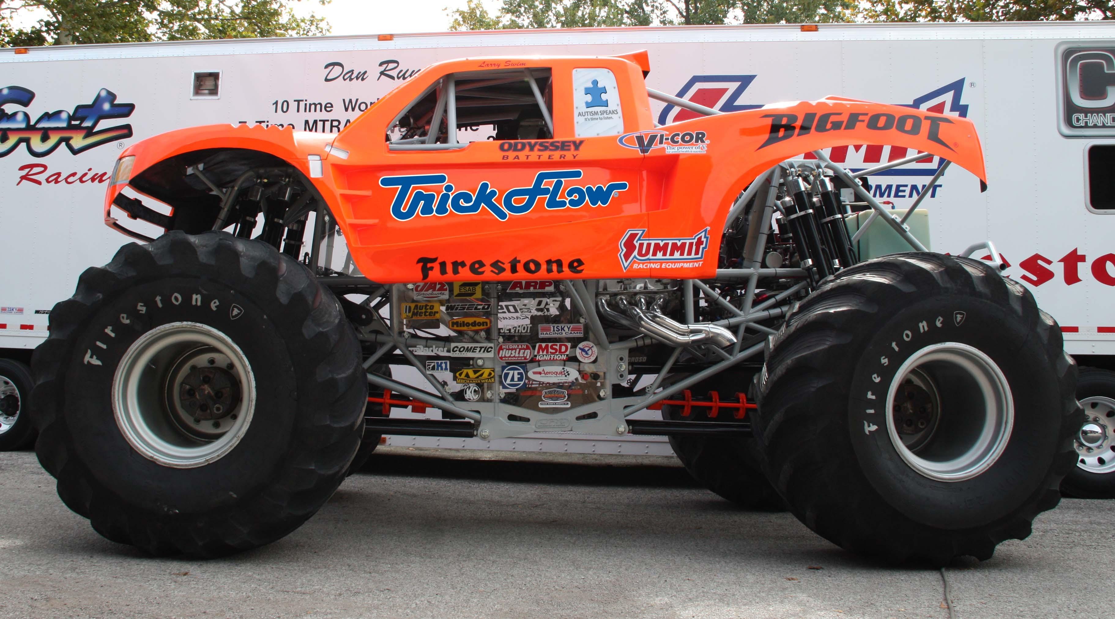 Summit Racing Bigfoot And Trick Flow Bigfoot Monster Trucks