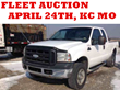 Kansas City, MO Public Auction of Fleet Cars, Pickup Trucks, Vans, and More; April 24th, 2014