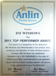 Anlin Windows Award San Diego
