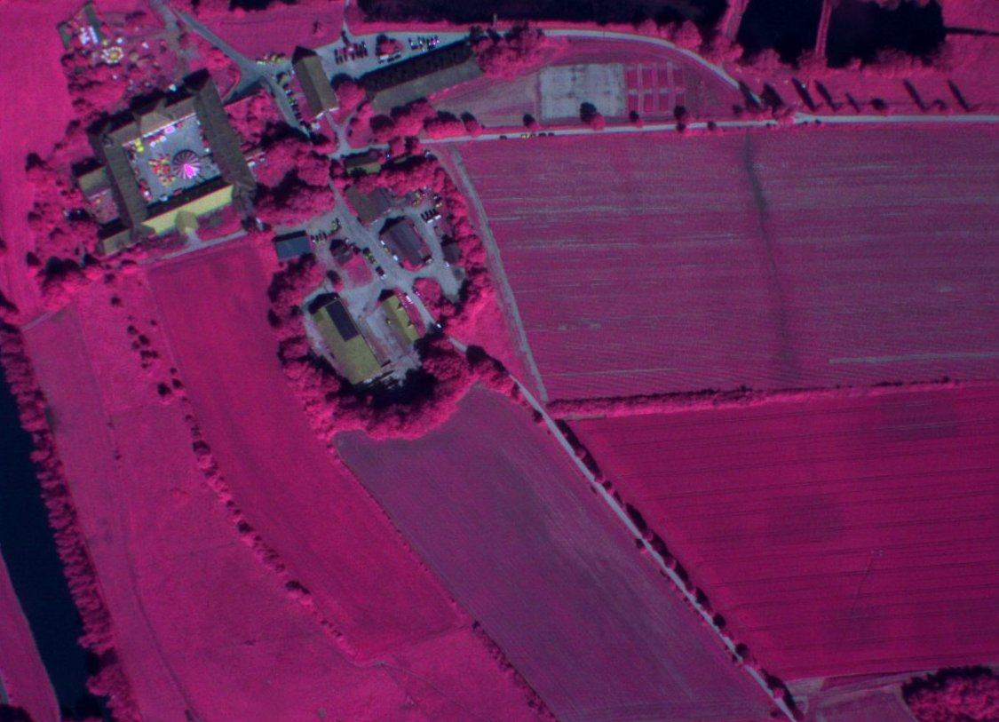 Multispectral Camera Payload On Draganflyer Unmanned