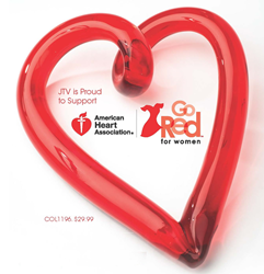 Jewelry Television supports the American Heart Association's Go Red For Women Movement