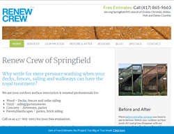 Renew Crew of Springfield Website