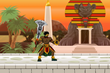 Still From the Piye Chronicles Mobile Game