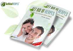 get rid of herpes book review
