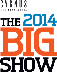 Cygnus Business Media's THE BIG SHOW logo