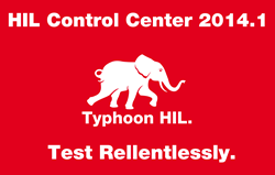 HIL Control Center 2014.1 Release