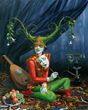 Huckleberry Fine Art Gallery Presents Absurdist Artist Michael Cheval