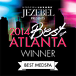 "AYA Named JEZEBEL Magazine's 2014 Best of Atlanta ""Best Med Spa"" 2nd Year in a Row"