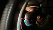Young Patient and His Mom Aboard A Compassion Flight