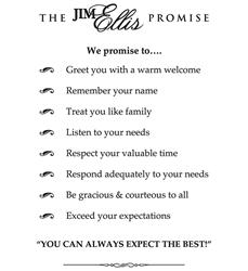 Jim Ellis Promise