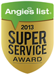Atlas Floors Carpet One Wins Angie's List Super Service Award