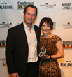 Gale Anne Hurd and Bill Paxton