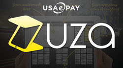 Zuza POS Integrates with USAePay Secure Payment Gateway