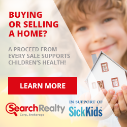 Search Realty Partners With Sick Kids