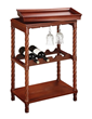 Sterling Lighting Bailey Street Piccadilly Wine Cart 6043453