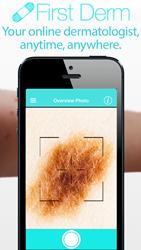 derm app screen shot