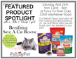 Funny Fur To Host Benefit with Stella & Chewy's for Save A Cat...