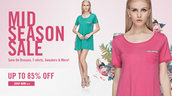 OASAP sale, spring sale, mid-season sale, 85% off
