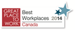 eXplorance Receives the 2014 Best Workplaces in Canada Award