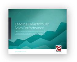 Ryan Estis e-book: Leading Breakthrough Sales Performance
