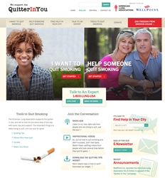Quitter In You American Lung Association