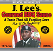 J. Lee's Gourmet BBQ Sauce Releases Historic New Label