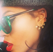 Rihanna Wears HAZE Collection Eyewear