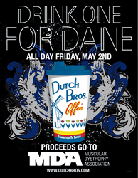 Dutch Bros. Coffee Drink One for Dane