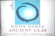 MoonDance Organic Clay Soap- Face & Body Bar