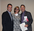 AIA Colorado West Awards: Jim Jose, AIA; Sarah Broughton, AIA; and Charles Cunniffe, AIA